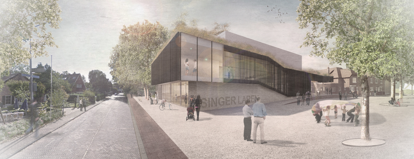 Singer Theater Laren - Artist Impression